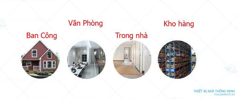 Cảm biến chuyển động hồng ngoại ở Hà Nội
