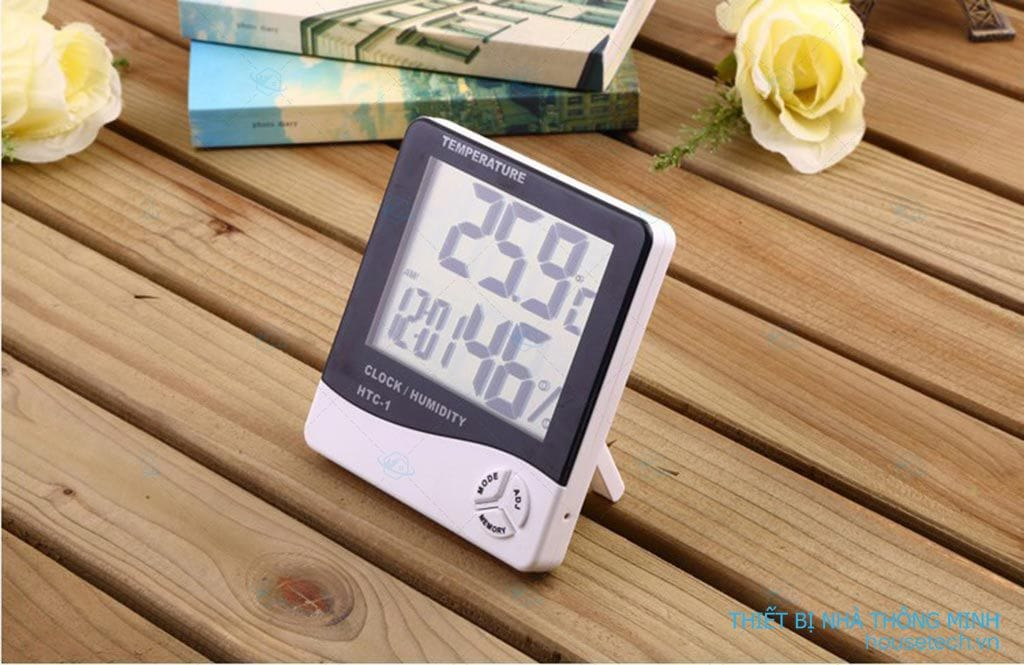 Đồng hồ đo nhiệt độ độ ẩm trong phòng
