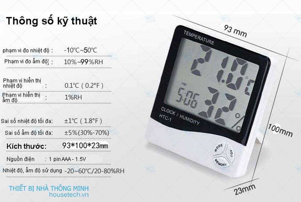 Máy đo nhiệt độ độ ẩm không khí