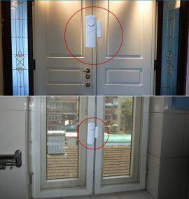 Báo động cửa mở dùng pin tiểu AAA