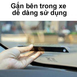 Bảng số điện thoại gắn táp lô ô tô khi đỗ v1