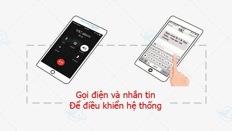 Báo động trung tâm App GSM cao cấp