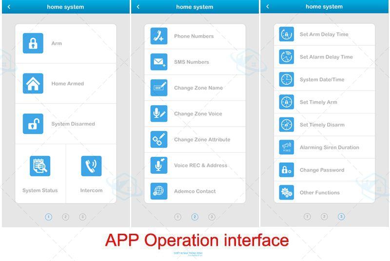 Báo động trung tâm App GSM cao cấp ở Đà Nẵng