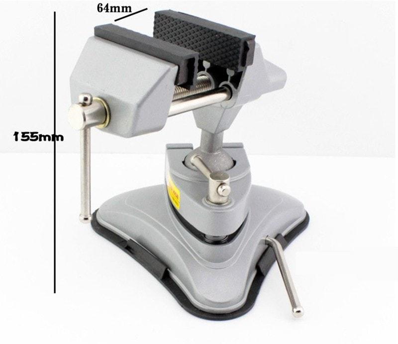 Ê tô mini 360 hút chân không mặt bàn giá rẻ