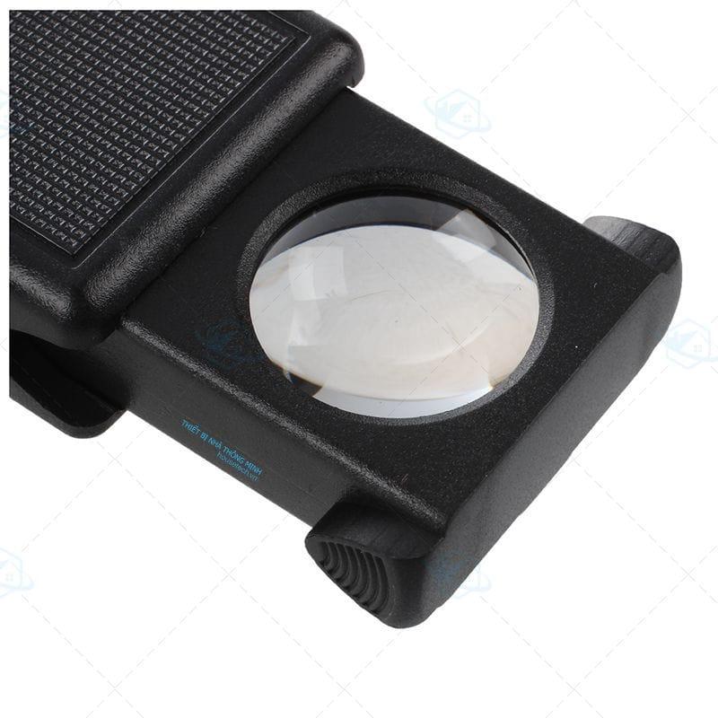 Kính lúp 45x có đèn led cao cấp