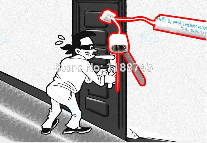 Báo động cửa mở kiêm đèn pin du lịch cao cấp