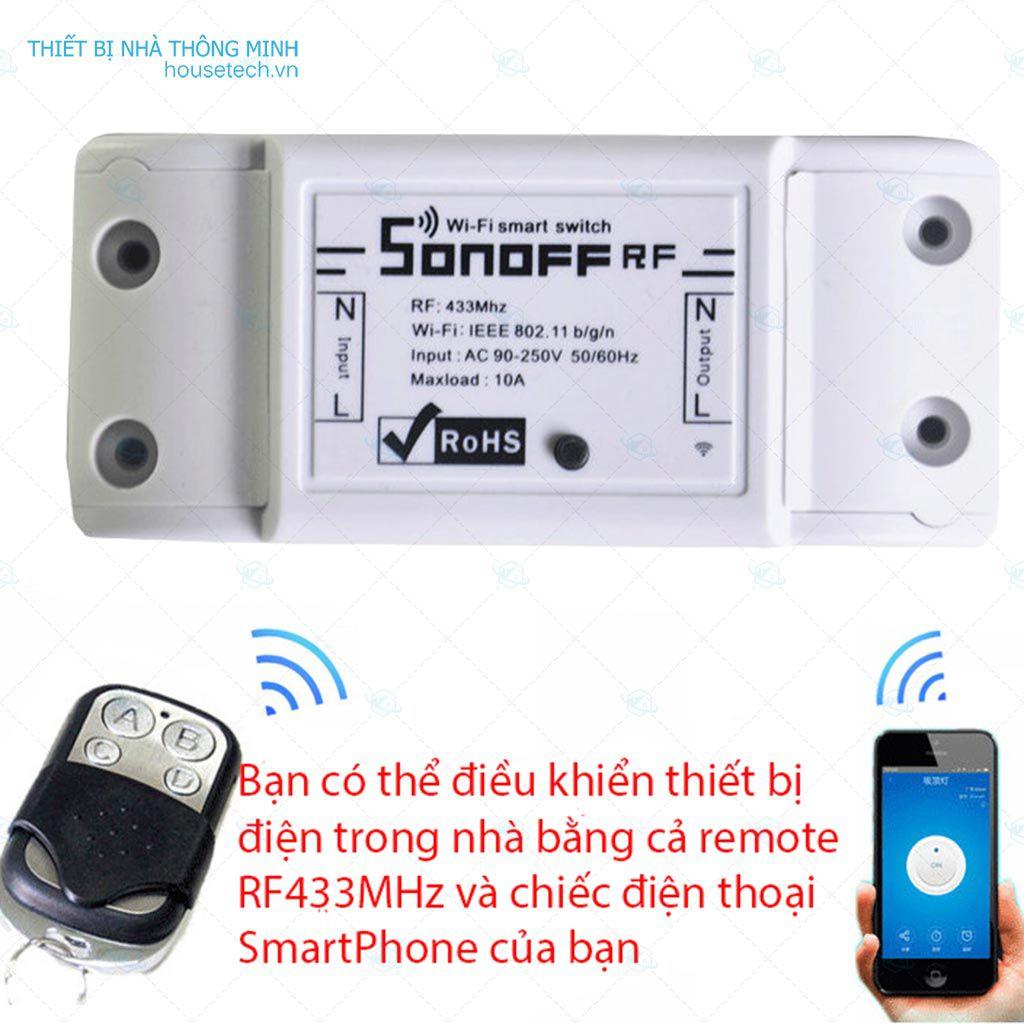 Công tắc điều khiển từ xa bằng điện thoại tại Hồ Chí Minh