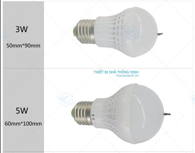 đèn led 3w làm sạch không khí