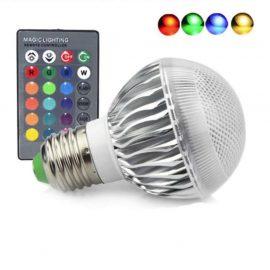 Đèn led đổi màu điều khiển từ xa 5W