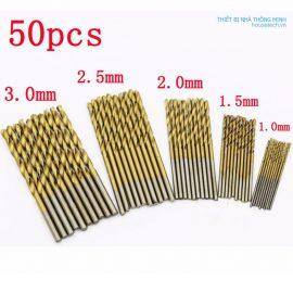 Bộ 50 mũi khoan mini đa năng 1 - 3mm HT329 Hà Nội