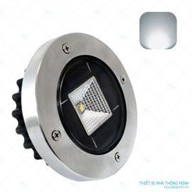 đèn âm đất sử dụng năng lượng mặt trời