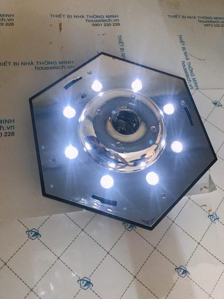 đèn lục giác ánh sáng trắng