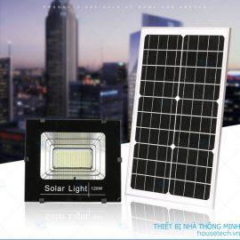 Đèn chiếu sáng năng lượng mặt trời cao cấp 120W giá rẻ