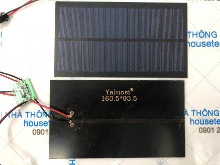 Tự làm tấm pin năng lượng mặt trời 5.5v-2.2w