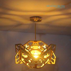 đèn gỗ phòng khách ht640