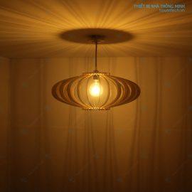 đèn trang trí gỗ HT605