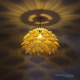 đèn hoa atiso đẹp ht593
