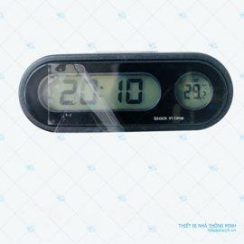 đồng hồ nhiệt kế oto ht665