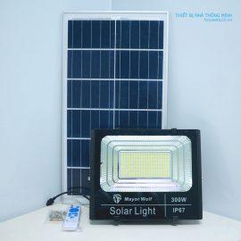 Đèn Pha Led 300W năng lượng mặt trời siêu sáng